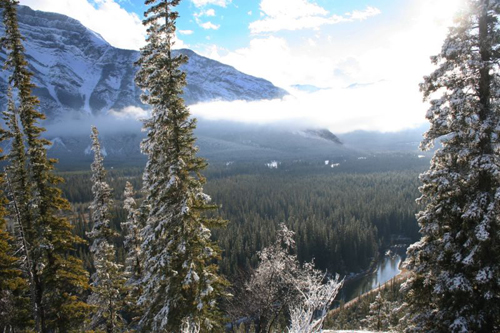 A nice photo of Banff