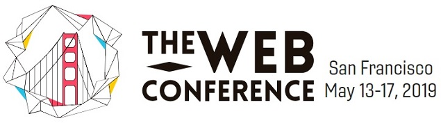 The Web Conference 2019 banner